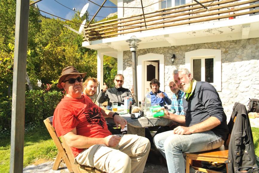 Boge village, biospeleo team
